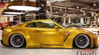 NISSAN GT-R CUSTOMIZED GOLD ENGRAVED BODY | 2014 | LOW MILEAGE