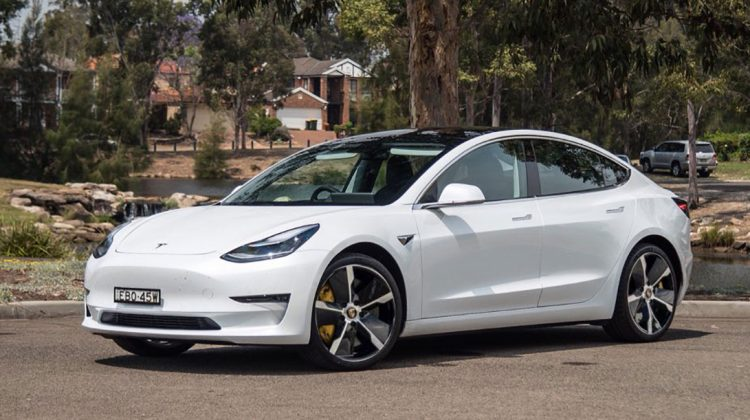 The New Tesla Model 3 2020