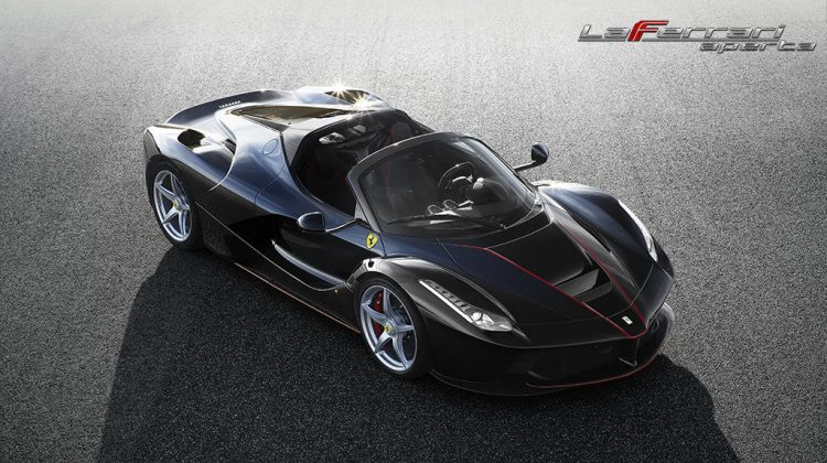 LAFERRARI APERTA – TECHNOLOGICAL EXCELLENCE, PERFORMANCE, STYLE & EXCLUSIVITY
