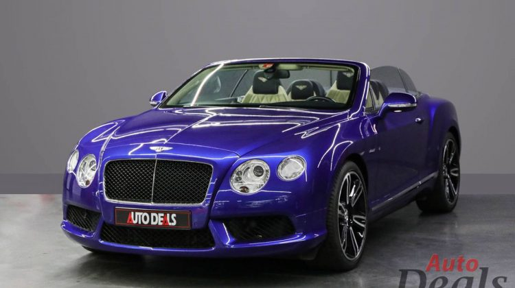 BENTLEY CONTINENTAL GTC MULLINER