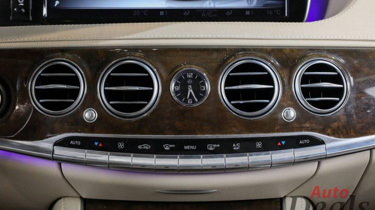 MERCEDES BENZ S 550 4MATIC LWB   2016