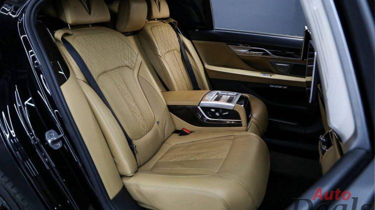 BMW 740 Li | GCC – Under Warranty Till Aug 2022