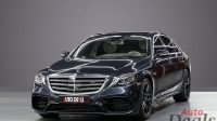 Mercedes Benz S550 With S63 Badge
