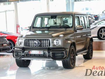 Mercedes Benz G63 AMG | G Manufactur | Brand New 2021