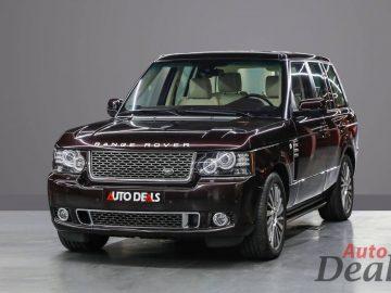 Range Rover Autobiography Ultimate Edition   GCC   2012 Model