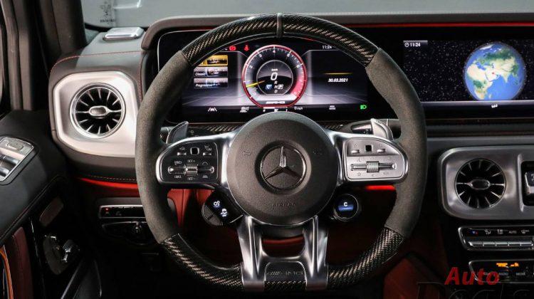 Mercedes Benz G 63 AMG | 2021 GCC | Under Warranty – Ultra Low mileage