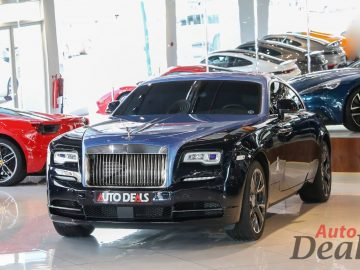 Rolls Royce Wraith Bespoke One Off One | GCC Under Warranty