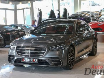 Mercedes Benz S500 4 Matic | 2021 GCC | Under Warranty