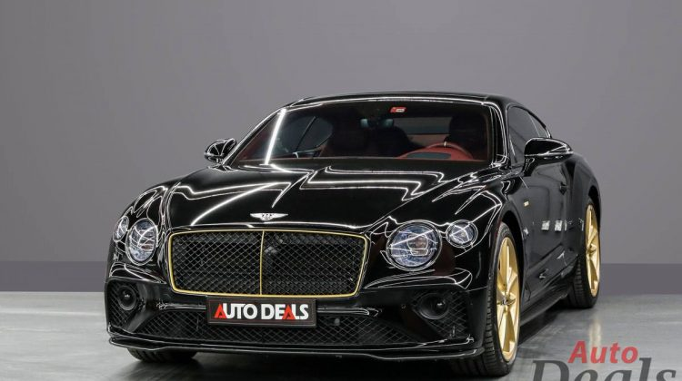 Bentley Continental GT W12 Mulliner Aurum Edition 1 of 10 | 2020 GCC Warranty Till 2023-Low Mileage