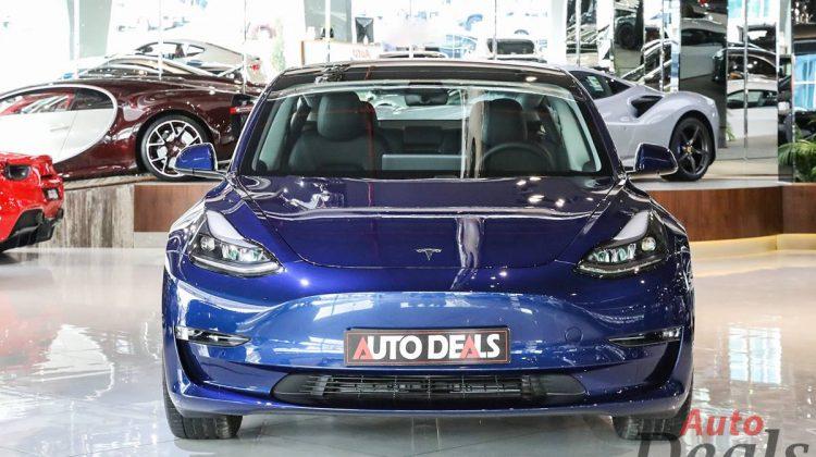 Tesla Model 3 – Dual Motor Long Range AWD   2021 Brand New GCC   Under Warranty