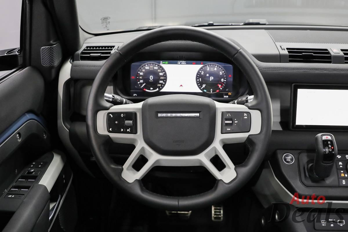 Land Rover Defender 110 P400 SE   2021 GCC Ultra Low ...
