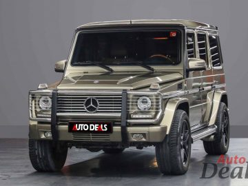 Mercedes Benz G 55 AMG | GCC – Golden Color