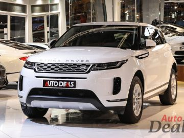 Range Rover Evoque S P200 | 2020 Model – GCC | Warranty & Service till 2025 | Very Low Mileage