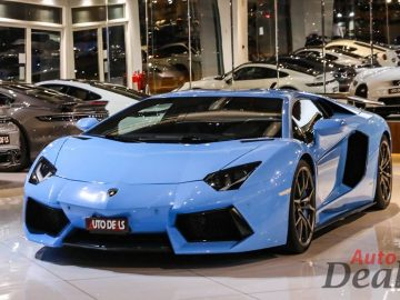 Lamborghini Aventador LP 700-4 Coupe With DMC Kit | GCC – Low Mileage