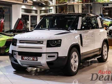 Land Rover Defender 110 SE P400 | 2021 Model – Brand New | GCC – Under Warranty & Service Contract