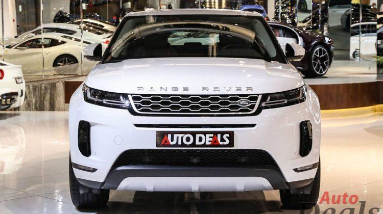 Range Rover Evoque S P200 | 2020 Model – GCC | Warranty & Service till 2025 | Very Low Mileage