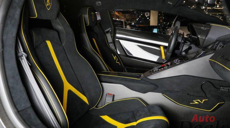 Lamborghini Aventador SV LP 750-4 Coupe | GCC – Ultra Low Mileage | Under Warranty