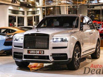 Rolls Royce Cullinan Black Badge | 2021 – GCC – With Warranty & Service Contract