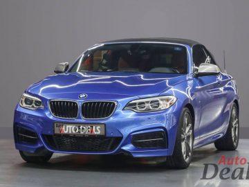 BMW M 240i Convertible | GCC – Low Mileage | Under Warranty & Service Contract