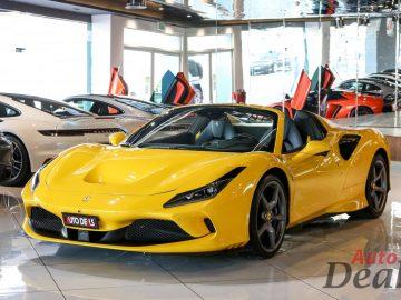 Ferrari F8 Spider | GCC – 2020 – Ultra Low Mileage | With Warranty & Service Contract