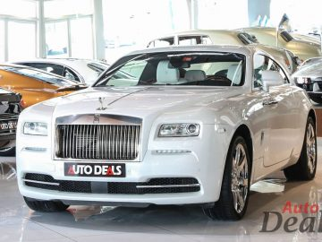 Rolls Royce Wraith Fashion Edition | GCC – Low Mileage