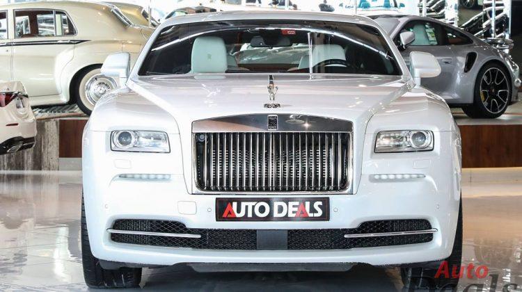 Rolls Royce Wraith Fashion Edition   GCC – Low Mileage