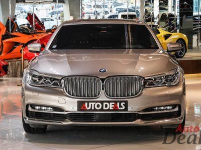 BMW 740 Li   GCC – Low Mileage   Under Warranty & Service Contract Aug 2022