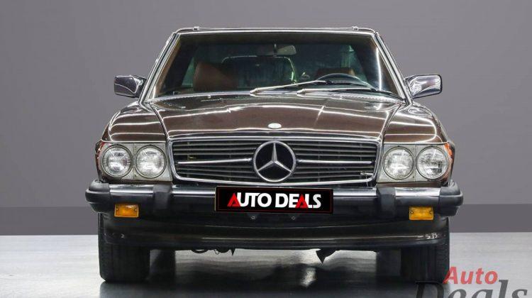1986 Mercedes Benz SL 560