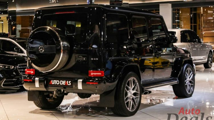 Mercedes Benz G63 AMG | 2020 – GCC – Very Low mileage | Warranty & Service Contract Till 2025