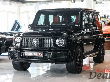 Mercedes Benz G63 AMG | 2021 – GCC – Low Mileage | With Warranty + Service Contract