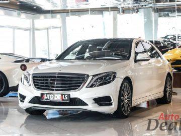 Mercedes Benz S500 LWB | GCC – low Mileage