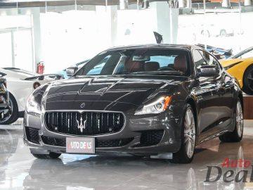 Maserati Quattroporte GTS | GCC- Ultra Low Mileage
