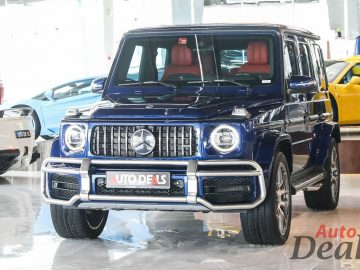Mercedes Benz G 63 AMG | 2021 – GCC – Very Low Mileage | With Warranty & Service Contract