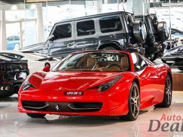 Ferrari 458 Spider | GCC – Low Mileage | Under Warranty