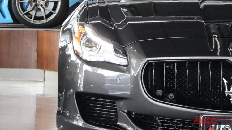 Maserati Quattroporte GTS   GCC- Ultra Low Mileage