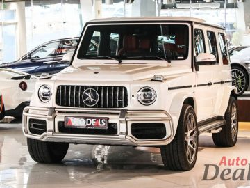 Mercedes Benz G 63 AMG | 2020 GCC – Very Low Mileage | With Warranty & Service Contract