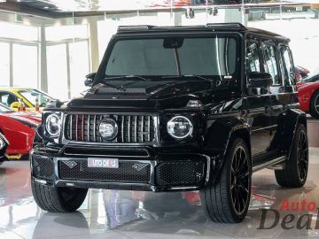Mercedes Benz G 63 AMG With G800 Brabus Kit | GCC – With Warranty & Service Contract