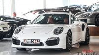 Porsche 911 Turbo S   GCC- With Warranty   Ultra Low Mileage   Full Service History
