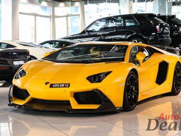Lamborghini Aventador LP 700-4 Coupe | GCC – Very Low Mileage