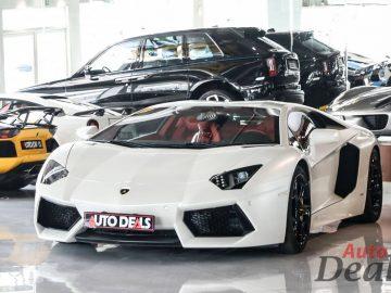 Lamborghini Aventador LP 700 – 4 Coupe | GCC – Ultra Low Mileage