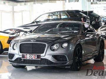 Bentley Continental GT V8S | GCC – Warranty Till May 2023