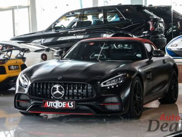 Mercedes Benz AMG GT Roadster | 2021 – GCC – With Warranty Till 2024 | Top Packages