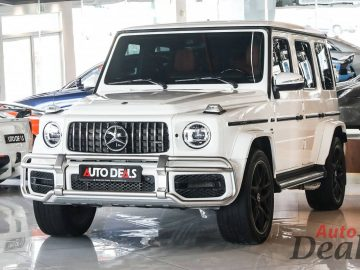 Mercedes Benz G 63 AMG | 2021 – GCC – Ultra Low Mileage | With Warranty & Service Contract