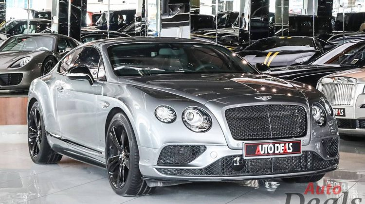 Bentley Continental GT V8S   GCC – Warranty Till May 2023