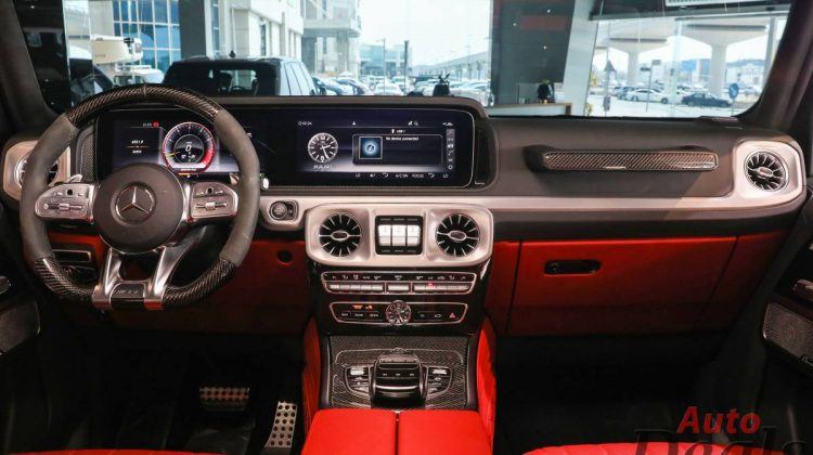 Mercedes Benz G 63 AMG With G800 Brabus Kit   GCC – With Warranty & Service Contract