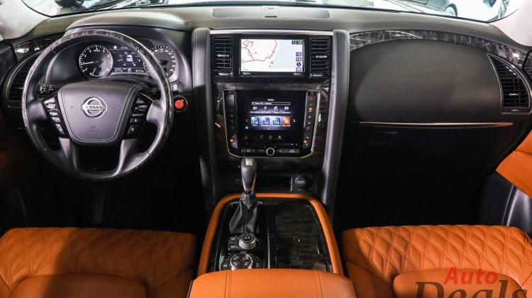 Nissan Patrol LE Platinum City   2021 – GCC   Warranty Till March 2026   Starlights – Full Option