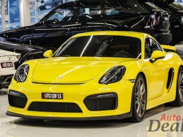 Porsche Cayman GT4 | GCC – Low Mileage | Manual Transmission