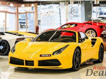 Ferrari 488 Spider | GCC – Ultra Low Mileage | Warranty – Service Contract Till Nov 2025