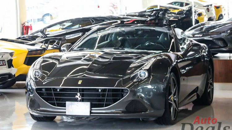 Ferrari California T | Convertible | GCC – Very Low Mileage | Full Service History