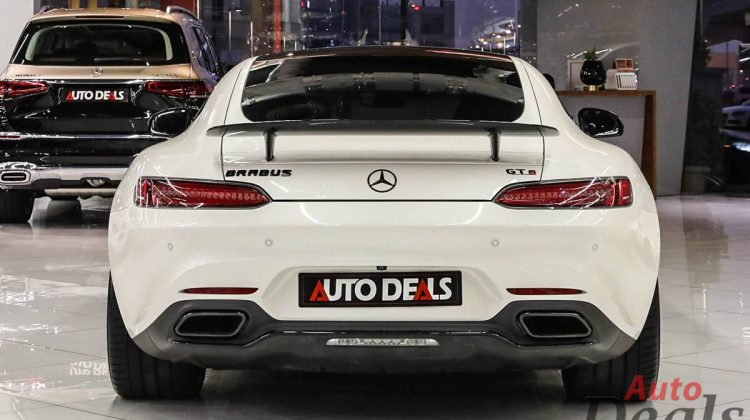 Mercedes Benz AMG GTS Edition 1 Brabus | Upgraded Performance | BHP & Torque Tuned Up